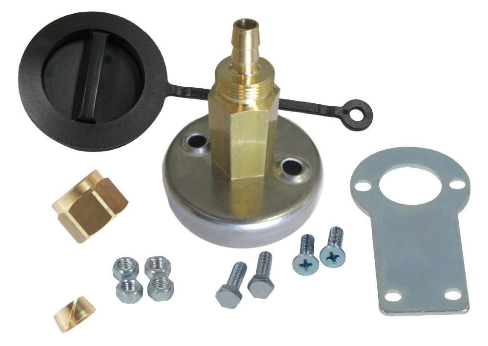 MVAT3300TP - Presa carica completa AT08 c/staffa per tubo termoplast.